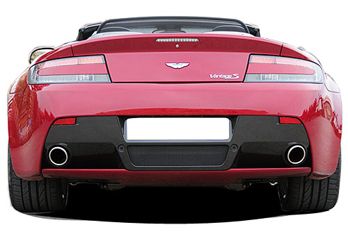 Aston Martin V8 Vantage S Rear View Exterior Picture