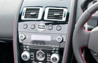 Aston Martin V8 Vantage S Front AC Controls Picture