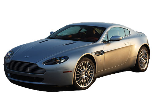 Aston Martin V8 Vantage Front Angle View Exterior Picture