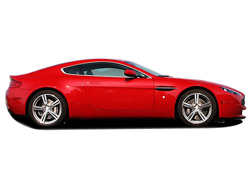 Aston Martin V8 Vantage Side Medium View Exterior Picture
