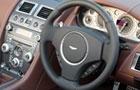 Aston Martin V8 Vantage Steering Wheel Picture