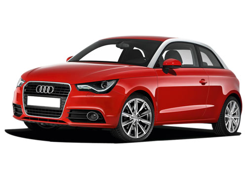 Audi A1 Front Angle View Exterior Picture