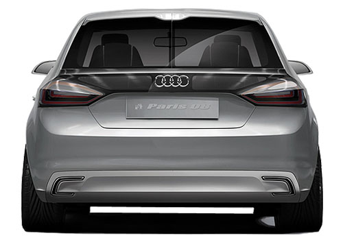 Audi A1 Rear View Exterior Picture