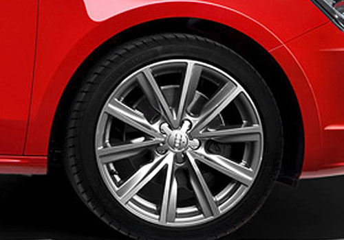 Audi A1 Wheel and Tyre Exterior Picture