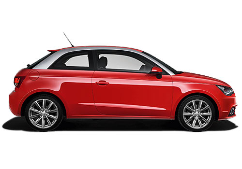 Audi A1 Side Medium View Exterior Picture