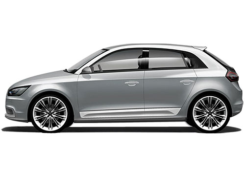 Audi A1 Front Angle Side View Exterior Picture