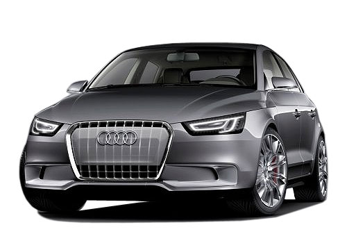 Audi A1 Front High Angle View Exterior Picture