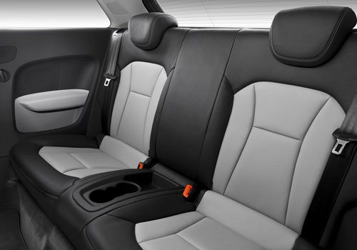 Audi A1 Rear Seats Interior Picture