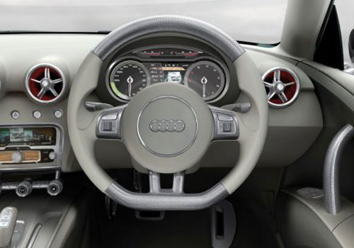 Audi A1 Steering Wheel Interior Picture