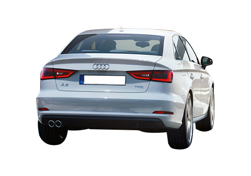 Audi A3 Rear View Exterior Picture