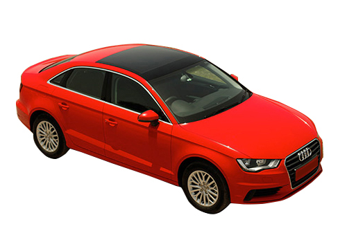 Audi A3 Top View Exterior Picture