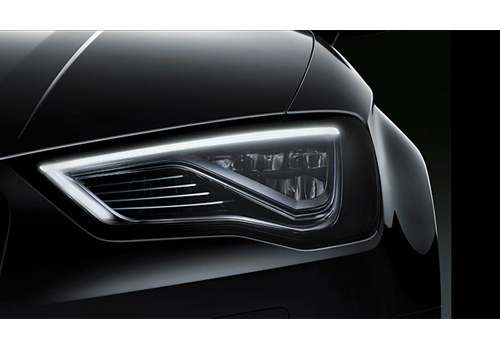 Audi A3 Headlight Exterior Picture