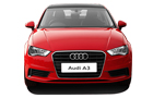 Audi A3 Front View Picture