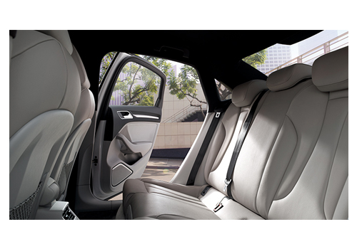 Audi A3 Rear Seats Interior Picture