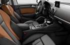 Audi A3 Front Seats Picture