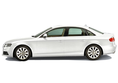 Audi A4 Front Angle Side View Exterior Picture