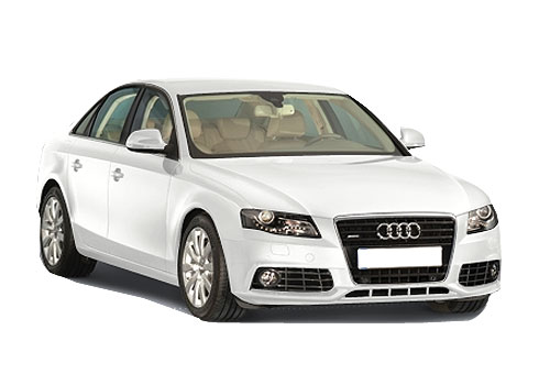 Audi A4 Front Low Angle View Exterior Picture