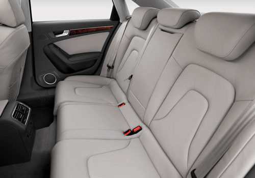 Audi A4 Rear Seats Interior Picture