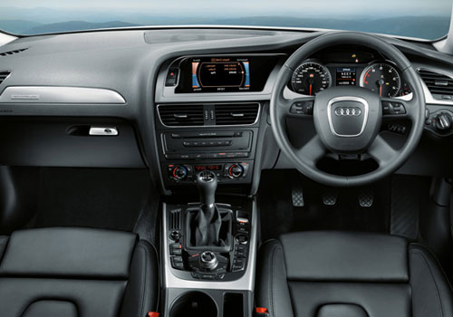 Audi A4 Dashboard Interior Picture