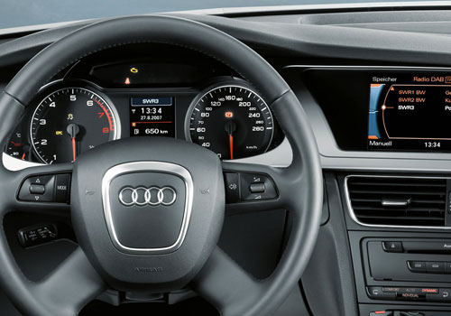 Audi A4 Steering Wheel Interior Picture