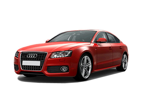 Audi A5 Front Angle View Exterior Picture