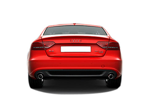 Audi A5 Rear View Exterior Picture