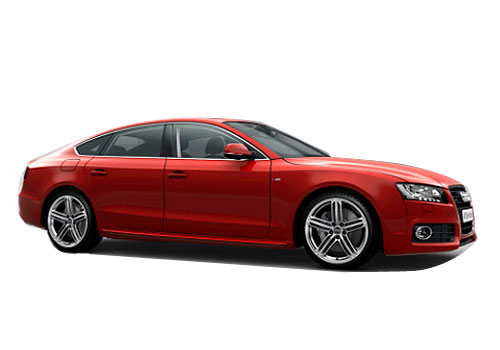 Audi A5 Front Side View Exterior Picture