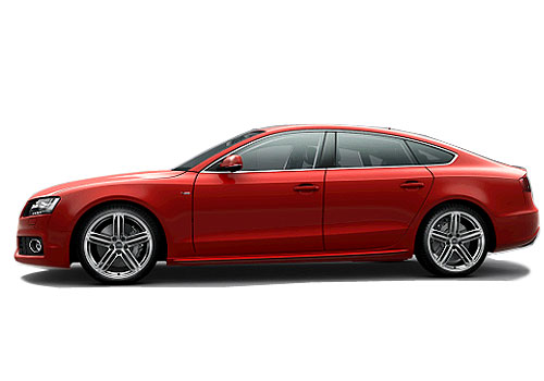 Audi A5 Front Angle Side View Exterior Picture