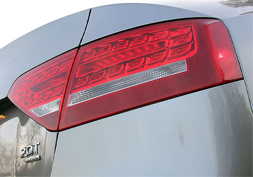 Audi A5 Tail Light Exterior Picture