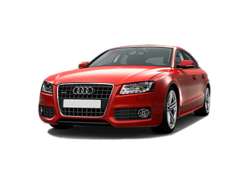 Audi A5 Front High Angle View Exterior Picture
