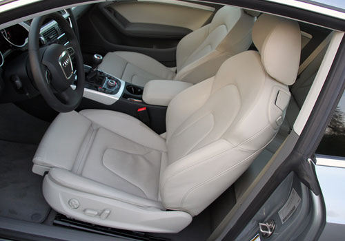 Audi A5 Front Seats Interior Picture