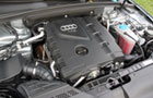 Audi A5 Engine Picture