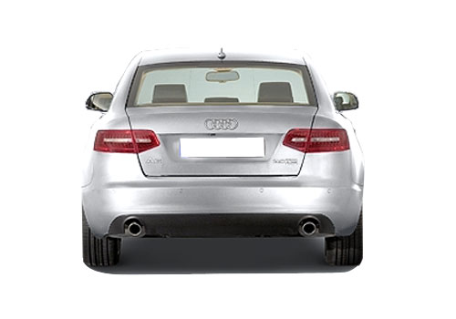 Audi A6 Rear View Exterior Picture