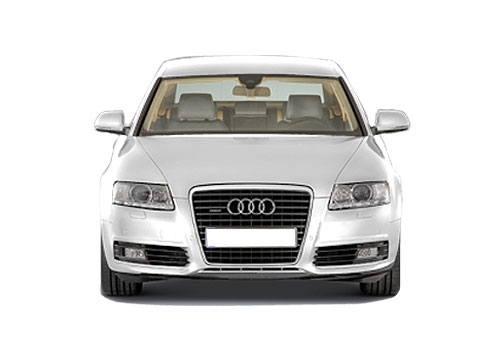 Audi A6 Front View Exterior Picture