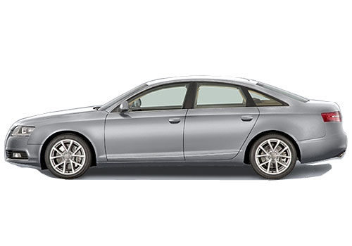 Audi A6 Front Angle Side View Exterior Picture