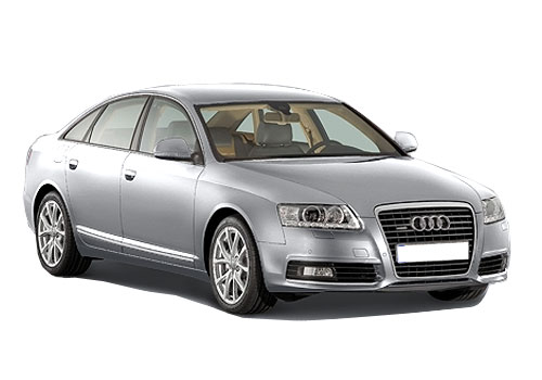 Audi A6 Front Low Angle View Exterior Picture