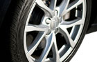 Audi A6 Wheel and Tyre Picture