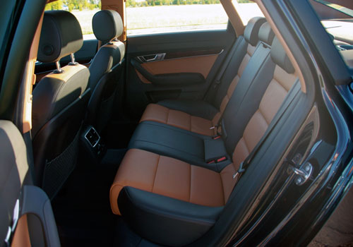 Audi A6 Rear Seats Interior Picture
