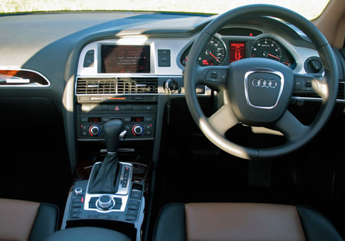 Audi A6 Steering Wheel Interior Picture