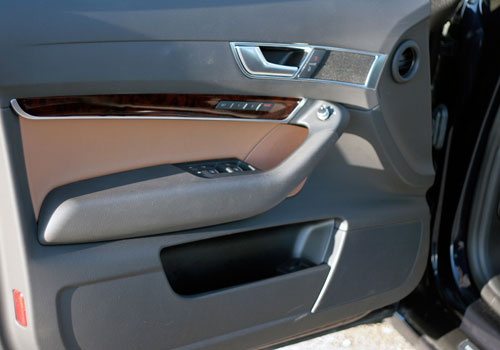 Audi A6 Inside Driver Side Door Open Interior Picture