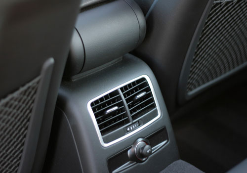 Audi A6 Front AC Controls Interior Picture