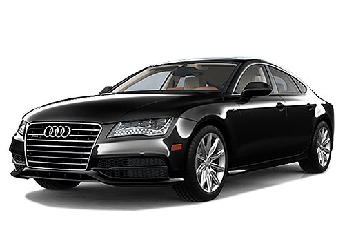 Audi A7 Front Angle View Exterior Picture