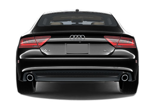 Audi A7 Rear View Exterior Picture