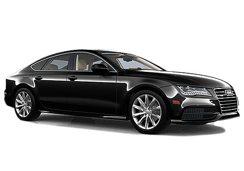 Audi A7 Front Side View Exterior Picture