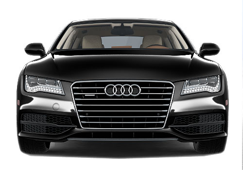 Audi A7 Front View Exterior Picture