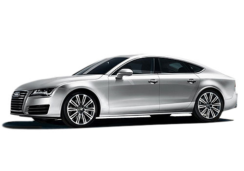 Audi A7 Front Angle Low Wide Exterior Picture