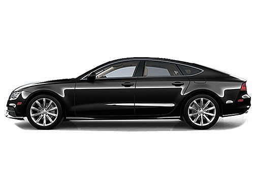 Audi A7 Front Angle Side View Exterior Picture