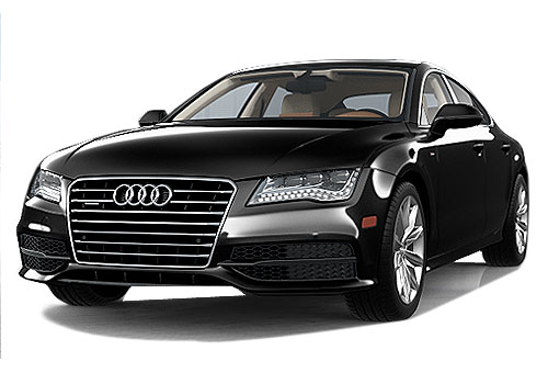 Audi A7 Front High Angle View Exterior Picture