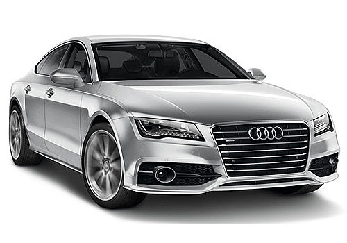 Audi A7 Front Low Angle View Exterior Picture