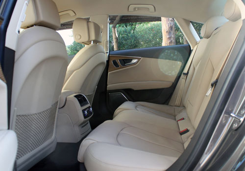 Audi A7 Rear Seats Interior Picture